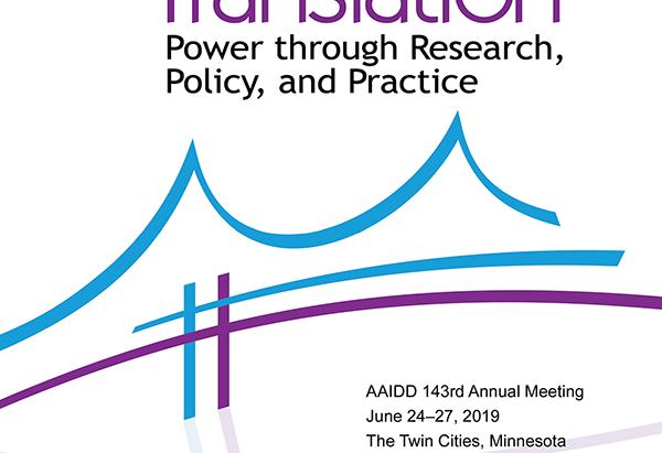 Conférence annuelle de l'AAIDD 2019
