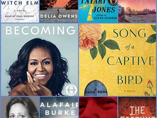 2018 Top 10 BSR AudioBooks