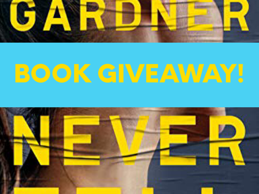 BOOK GIVEAWAY: NEVER TELL
