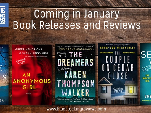 Coming in January Book Releases and Reviews