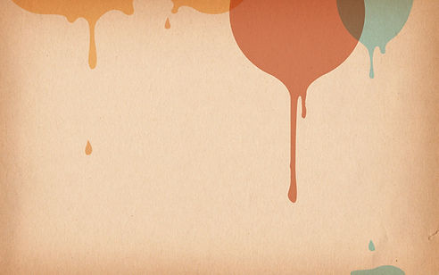 La pintura que gotea
