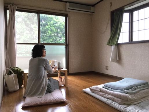 煌めく返り花西国分寺シェアハウス 女子三人宿泊談その② 〜それぞれお部屋でリラックス〜