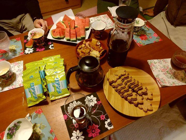 ダイアローグとお茶菓子