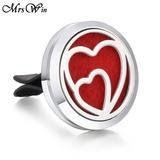 double heart car clip.jpg