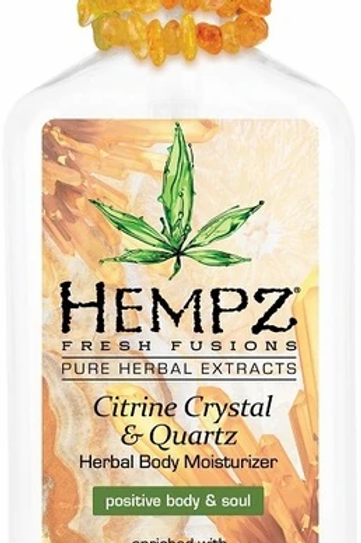 Hempz Citrine Crystal & Quartz Lotion