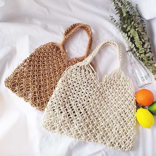 Cotten Crochet Simple Tote