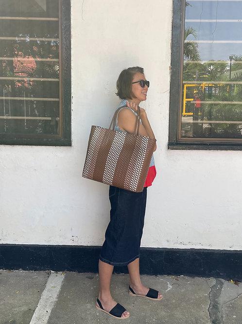 Adeline Handwoven Bag (Brown)