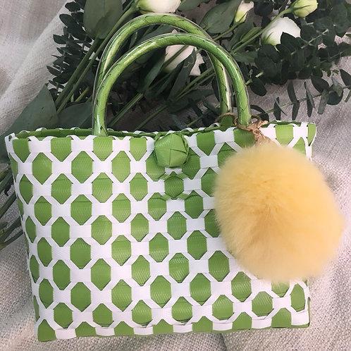Woven Bag (Apple Green)