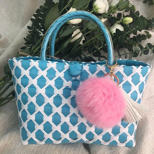 Woven Bag (Sky Blue)