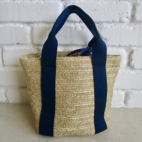 Hand Carry Petite Straw Bag