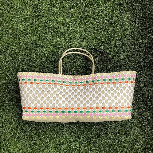 Multi Colour Woven Bag XL (Khaki)