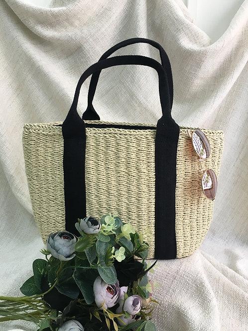 Straw Bag (Natural Beige)