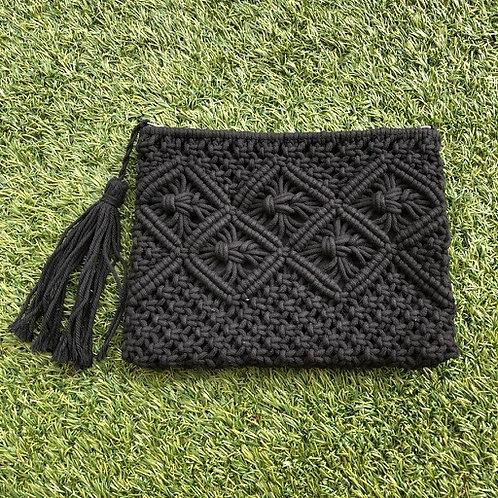 Cotten Crochet Tassel Clutch