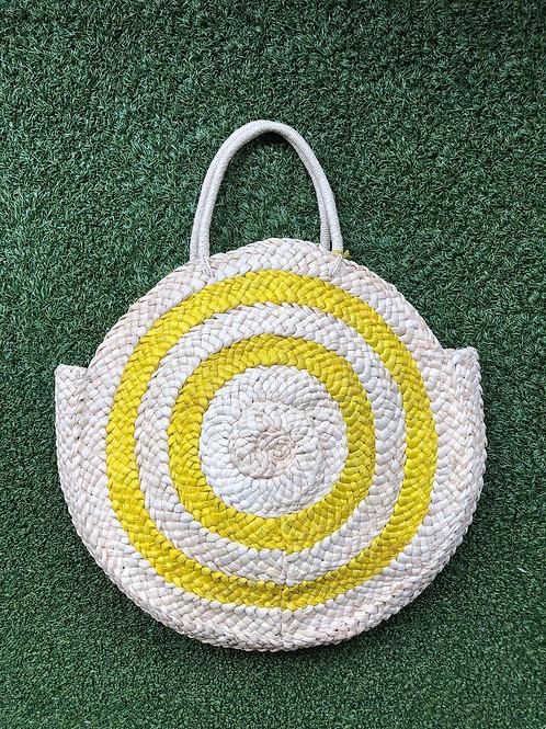 Malibu Straw Bag (Yellow)