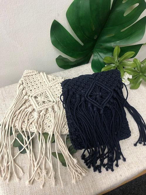 Cotton Crochet Tassel Sling (S)
