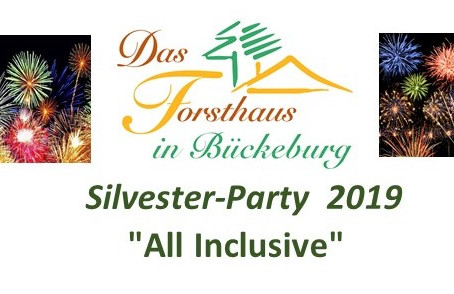 "Silvester-Party  2019      ""All Inclusive"""