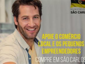 São Carlos lança campanha de valorização do comércio local
