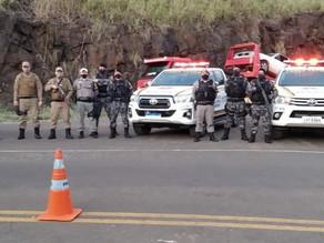 Operação conjunta entre Policia Militar e Brigada Militar