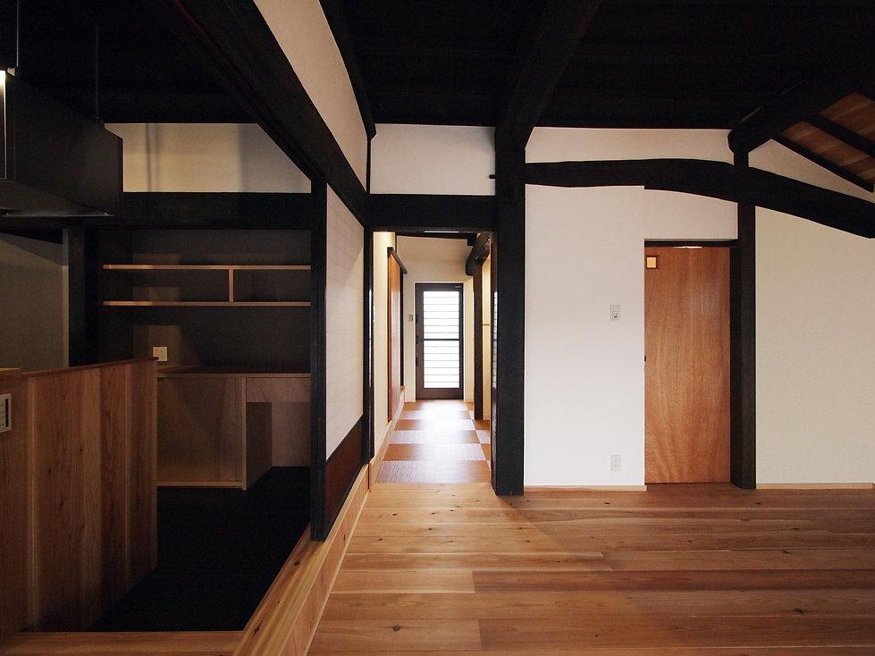 貴志川の古民家リノベーション 玄関