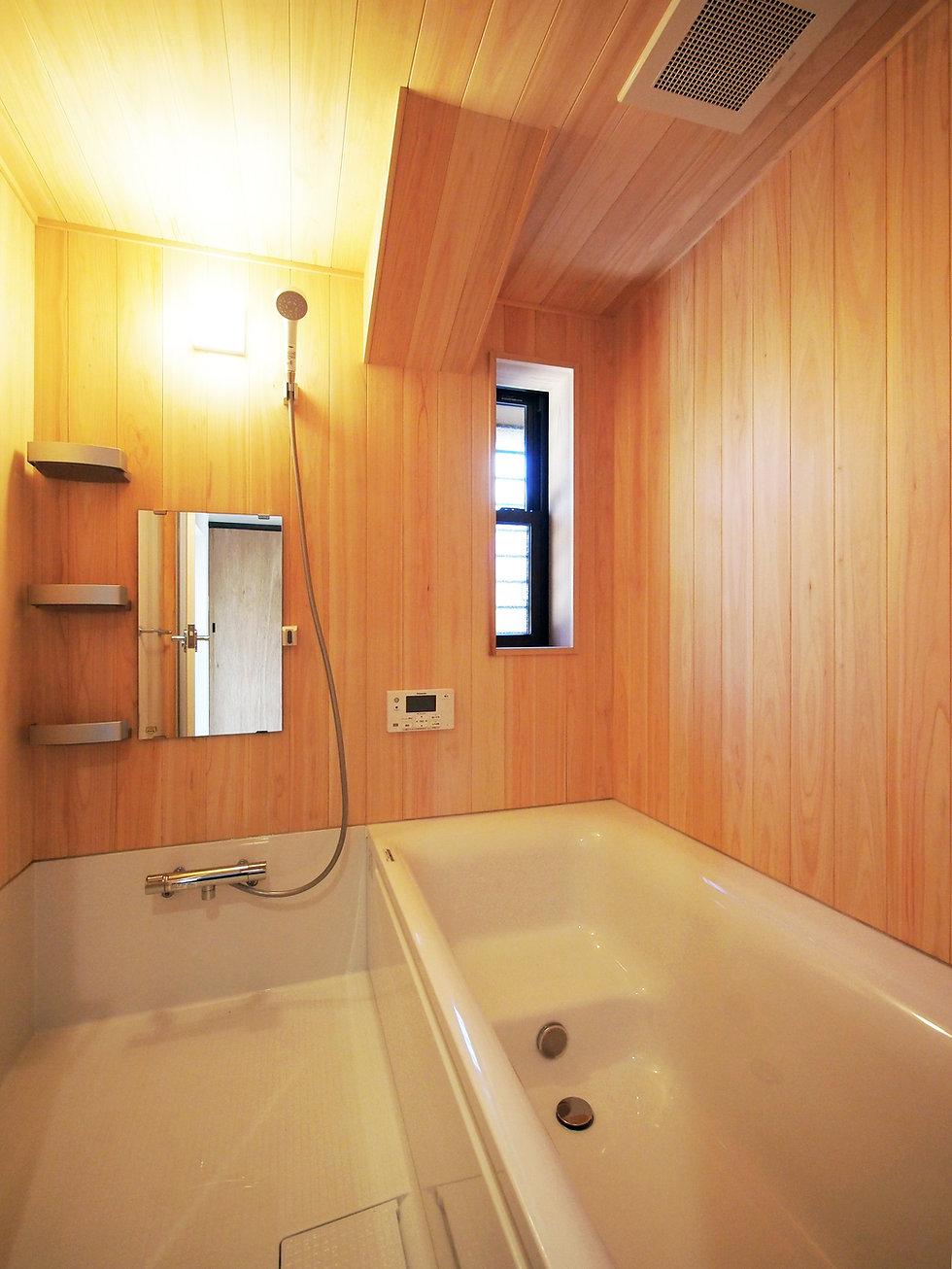 貴志川の古民家リノベーション 浴室