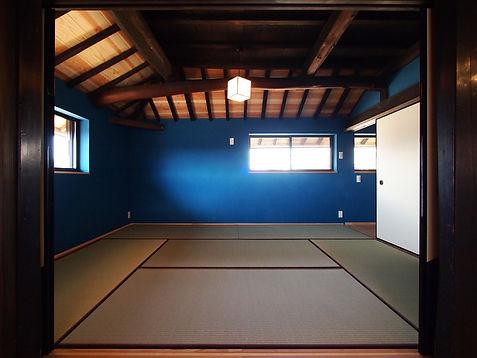 貴志川の古民家リノベーション 主寝室
