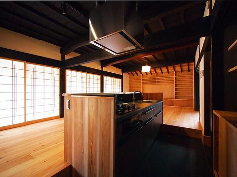 貴志川の古民家リノベーション キッチン