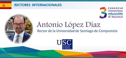 Rector Universidad Santiago de Compostel