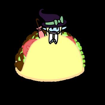 Taako Taaco in a Taco