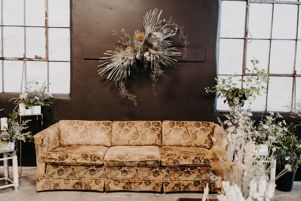 Green living wichita kansas sustainable floral art dried flowers