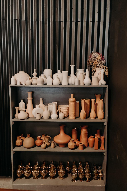 Rental bud vase collection flower shop wichita kansas weddings ict bride married engaged