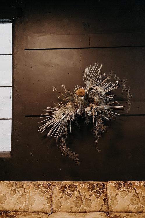 Fern & Fungi Floral Well Art