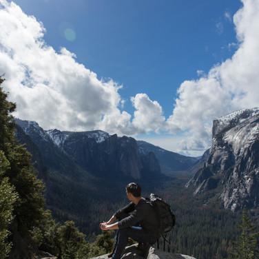 Albert Tong in Yosemite
