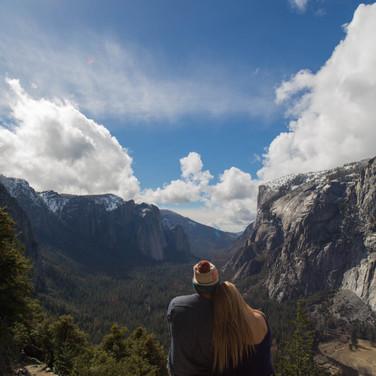 David Foreman and Katie Foreman in Yosemite