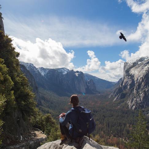 Georgia Smith in Yosemite