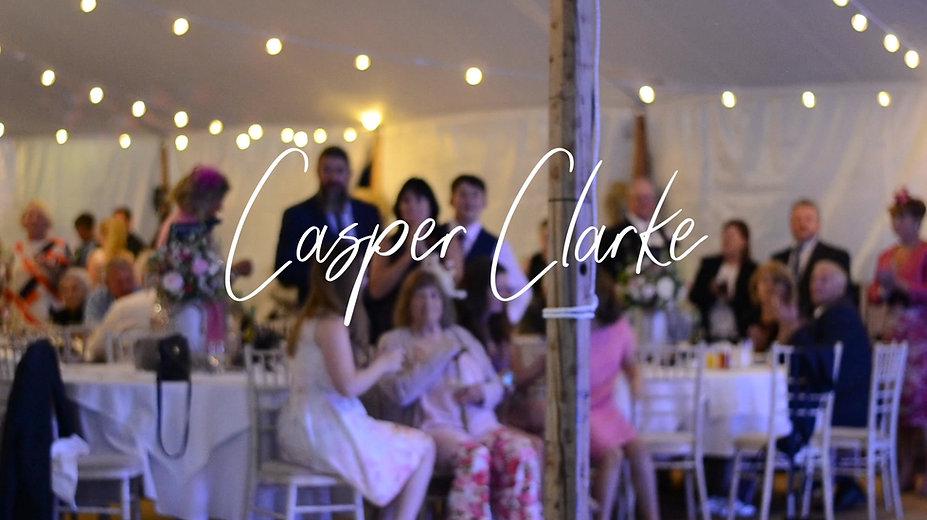 Wedding singer Suffolk - Wedding First Dance Song sung by Casper Clarke