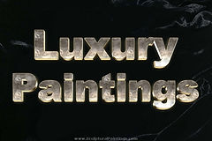 Luxury Painting line by sculptural painting artist, Ruth Collis