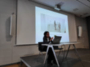 Tashweesh festival at Goethe Institute - Rania Atef visal artist