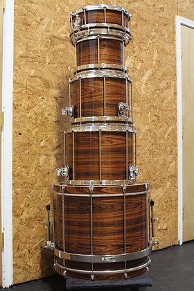 Sleishman LTD Macassar Ebony Drum Set - Ex Demo