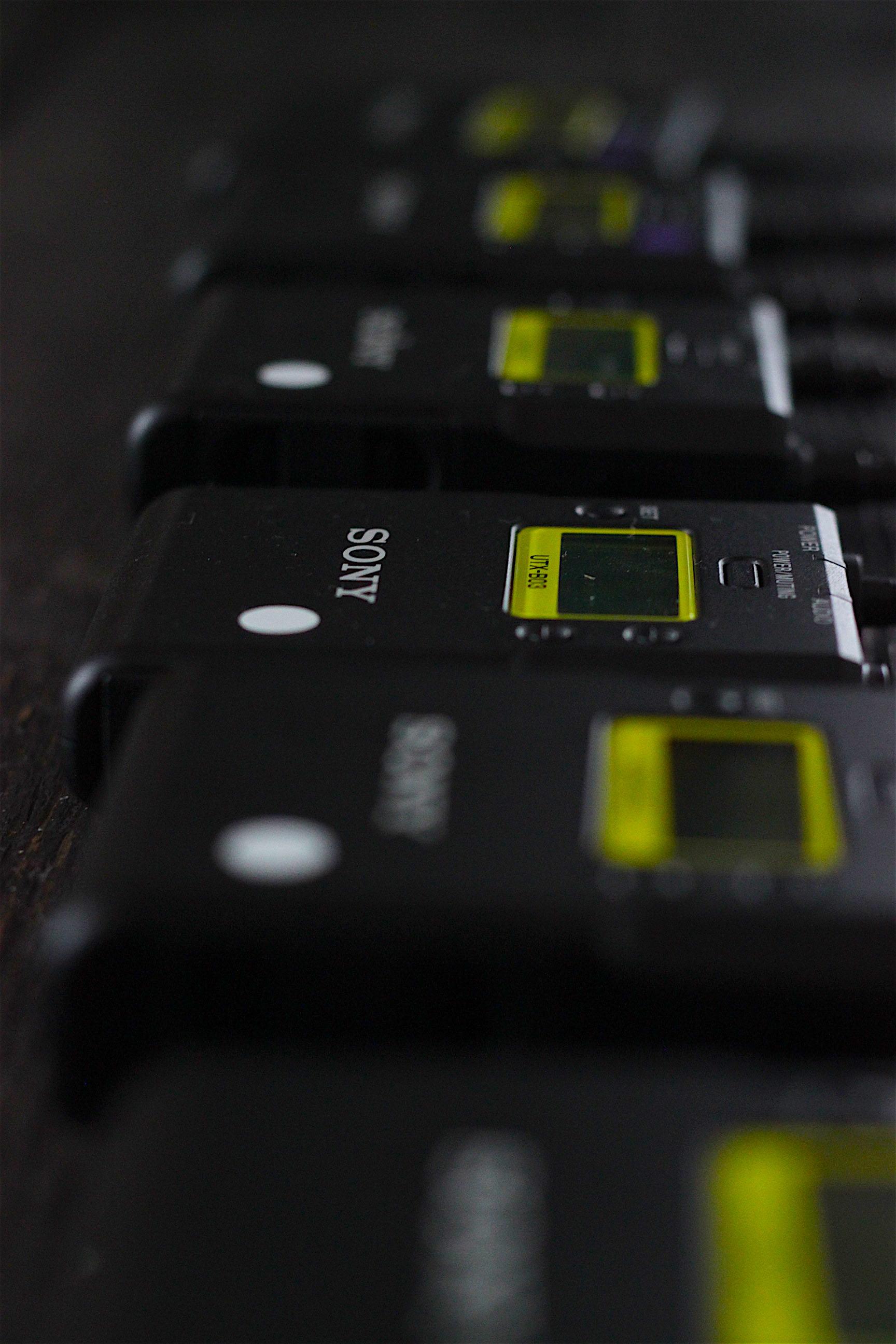 Sony UWP-D11 x3