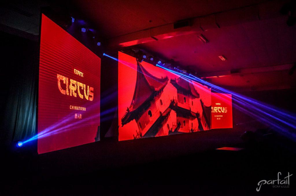 Evento Ebanx / Circus Chinatown
