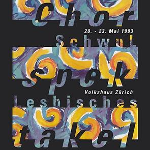 7TH FESTIVAL 1993 ZURICH