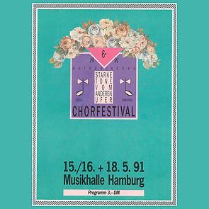 "6TH FESTIVAL 1991""STARKE TÖNE VOM ANDEREN UFER"" HAMBURG"