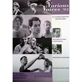 8TH FESTIVAL VARIOUS VOICES 1995 GRONINGEN