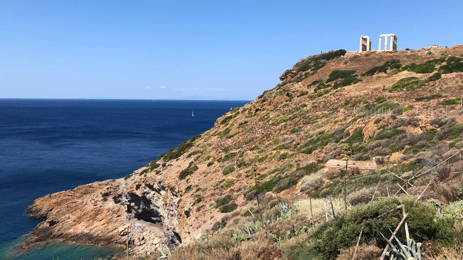 Sounion and the Temple of Poseidon