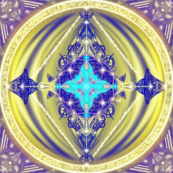Elohim 3 Folded Flame Diamond Light Body Archangels intervention
