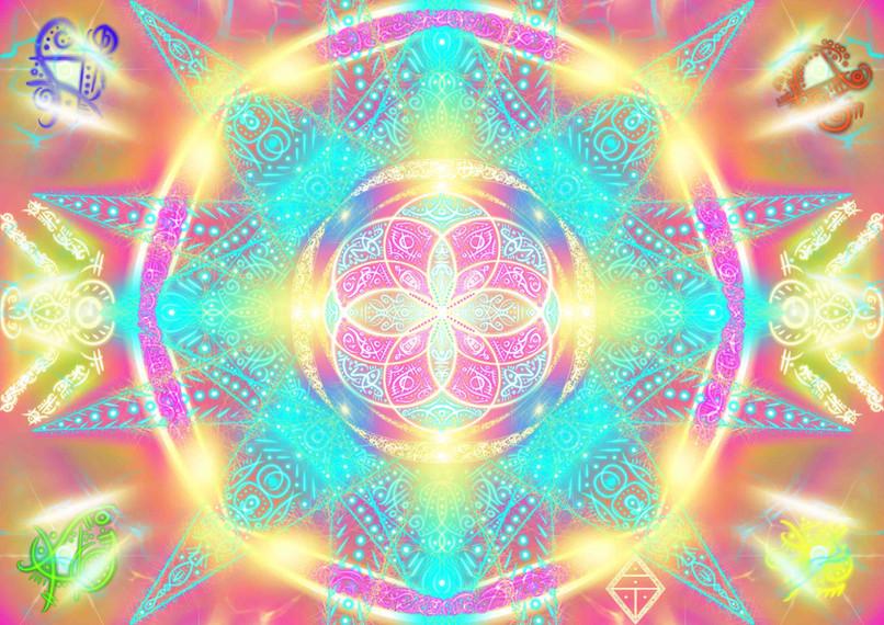 Gaia Elements Jesus Star Christ