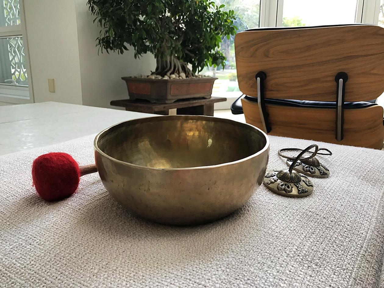Regular bowl  & Tingsha