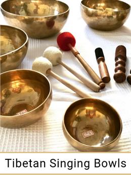 Tibetan Singing Bowls for sale