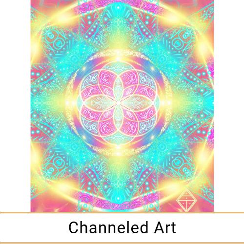Channeled Art by DEAaurelia