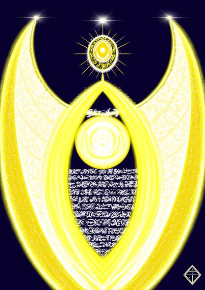 Divine Order by Elohim Christ Sun Disc